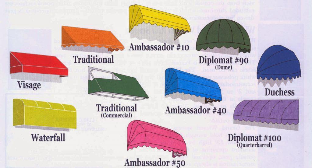 memilih canopy kain